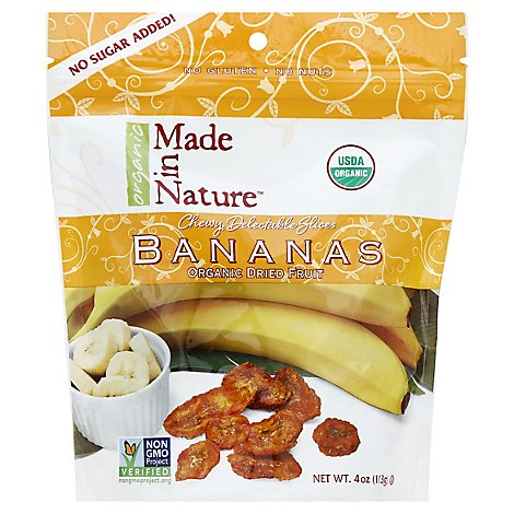 Made In Nature Bananas Org - 4 OZ