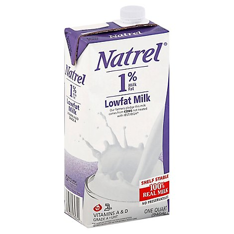 Natrel 1pct Red Fat Ml - 32 FZ
