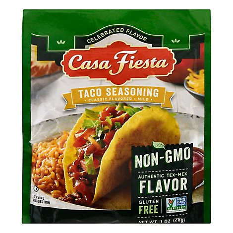 Casa Fiesta Taco Seasoning Mix - 1 OZ