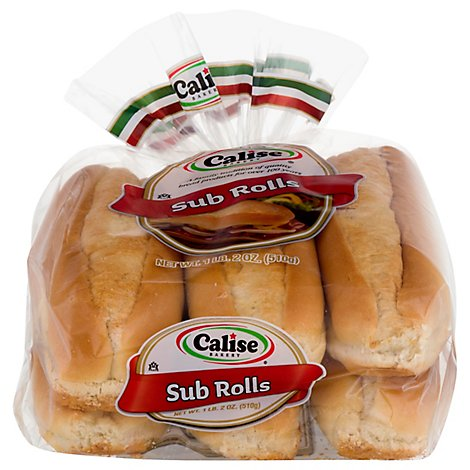 Calise Sub Rolls - 18 OZ