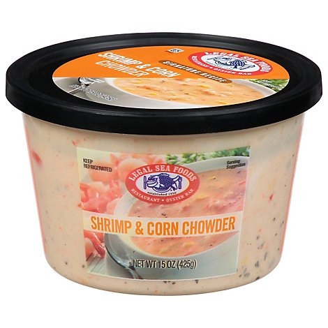 Legal Sea Foods Shrimp & Corn Chowder - 15 OZ
