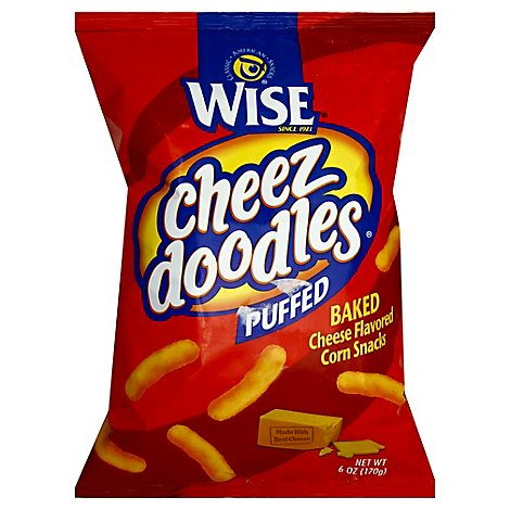 Wise Puffed Cheez Doodles - 6 OZ