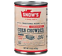 Snow's Corn Chwdr - 15 OZ