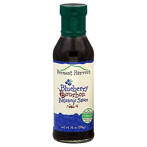 Vermont Harvest Sauce Balsamic Blueberry Bourbon - 14 Oz