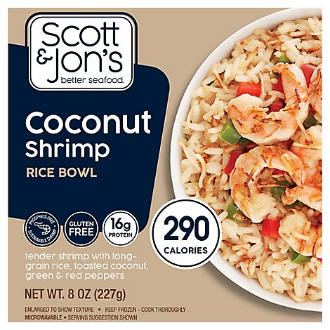 Cheating Gourmet Shrimp Coconut Rice Bowl - 8 OZ