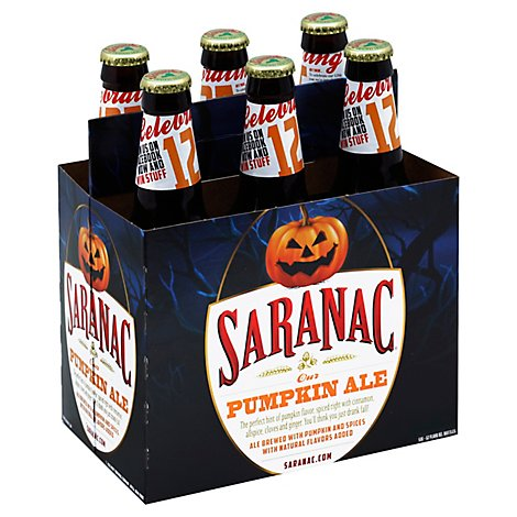 Saranac Seasonal Bottles - 6-12 FZ
