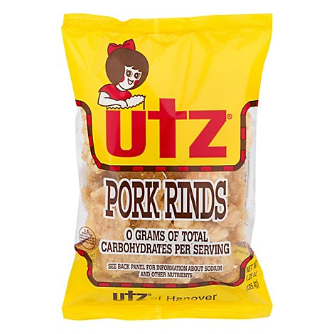 Utz Regular Pork Rind - 1.25 OZ