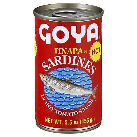 Goya Sardines Hot Tom Sce - 5.25 OZ