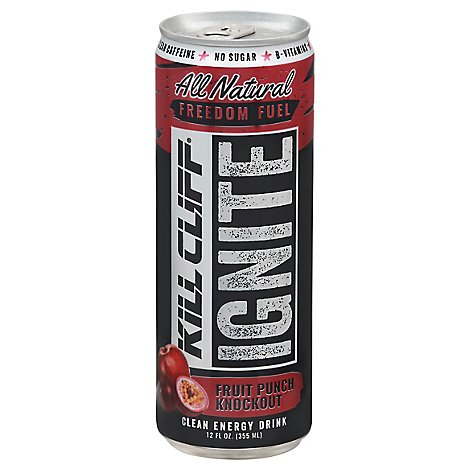 Kill Clif Drink Ignite Fruit Punch - 12 FZ