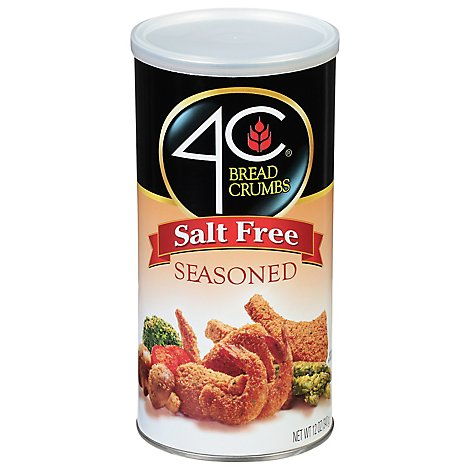 4c Seasoned Bread Crumbs - 12 OZ