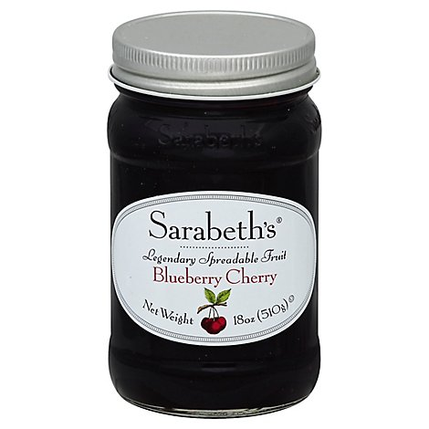Sarabeths Blueberry Cherry Fruit Spread - 18 OZ