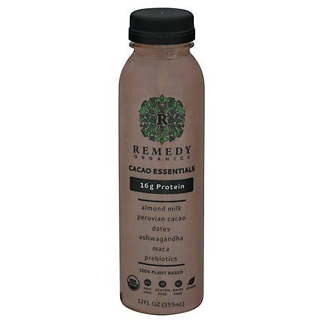 Remedy Organics Cacao Essentials Protein Drink - 12 Fl. Oz.