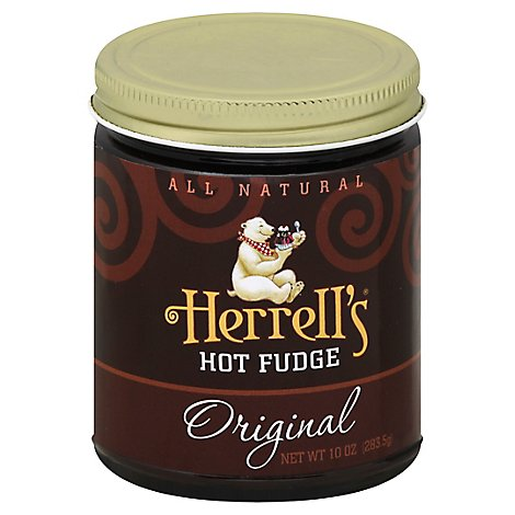 Herrells Hot Fudge Sauce Sauce Original - 10 OZ