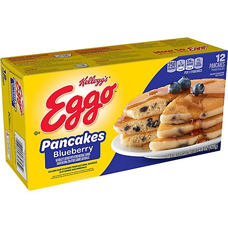 Eggo Blueberry Pancakes - 14.8 OZ