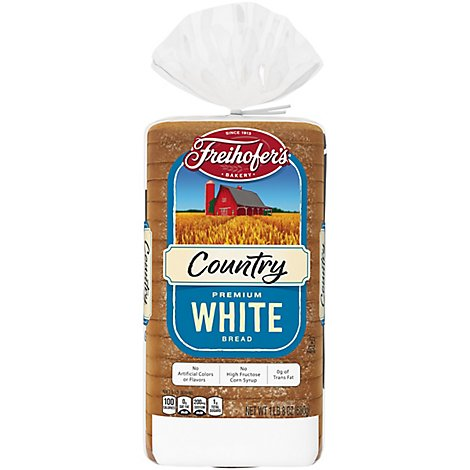 Freihofer Country White Bread - 24 OZ