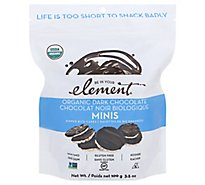 Element Dark Chocolate Organic Mini - 3.53 OZ