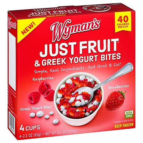 Just Fruit Strawberry Raspberries Yogurt - 9.2 OZ