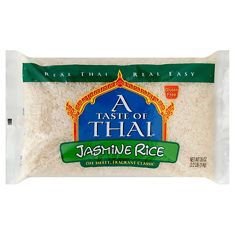A Taste Of Thai Rice Jasmine Soft - 35 OZ