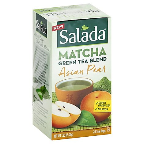 Salada Tea Pear Asian Matcha Bags 20ct - 20 CT