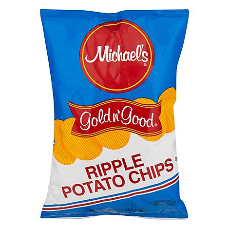 Michaels Gold N Good Reg Potato Chip - 16 OZ