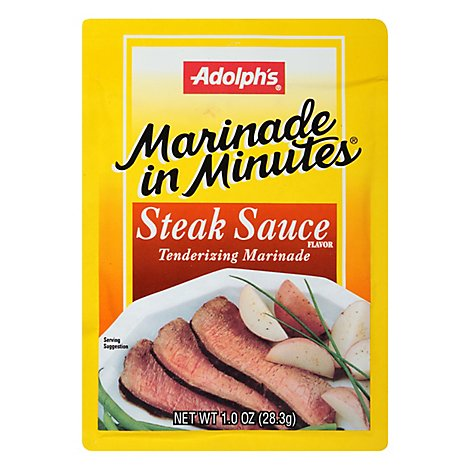 Adolphs Marinade In Minutes Steak Sauce Marinade Mix - 1 OZ