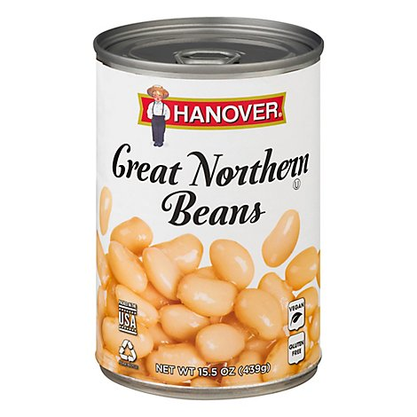 Hanover Beans Great Northern - 15.5 Oz