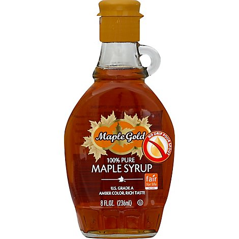 Maple Gold Pure Maple Syrup - 8 FZ