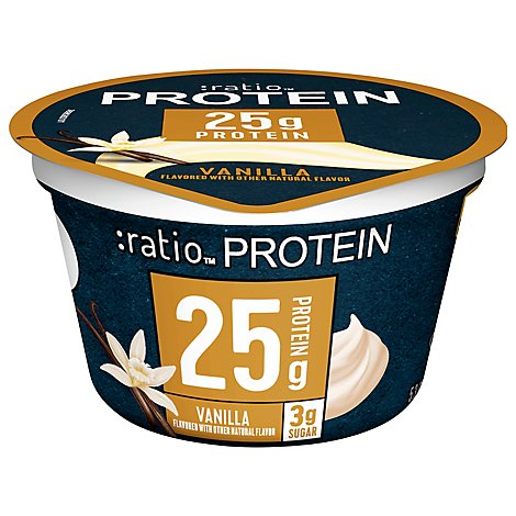 Ratio Protein Yogurt Vanilla - 5.3 OZ