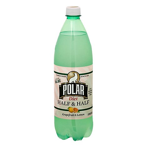 Polar Soda Diet Hf/hf Grapefruit  Lemon - 33.8 FZ