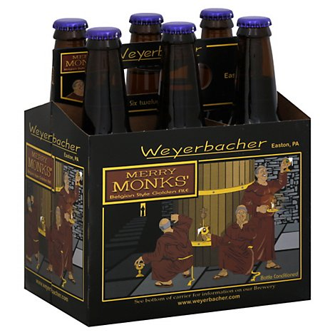 Weyerbacher Merry Monks Ale In Bottles - 6-12 FZ