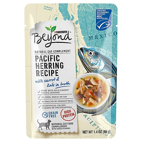 Purina Beyond Herring Recipe Cat Food - 1.4 OZ