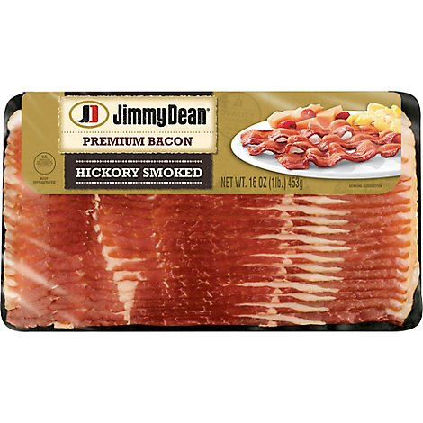Jimmy Dean Premium Hickory Bacon L-board - 16 OZ