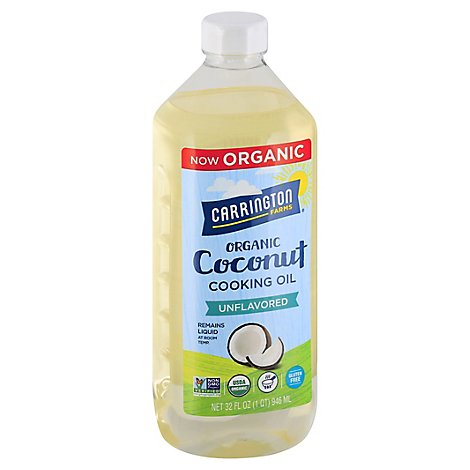 Carrington Farms Coconut Oil - 32 FZ