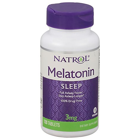 Natrol Melatonin 3mg - 120 CT