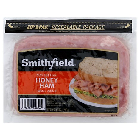 Smithfield Smoked Honey Ham - 10 OZ