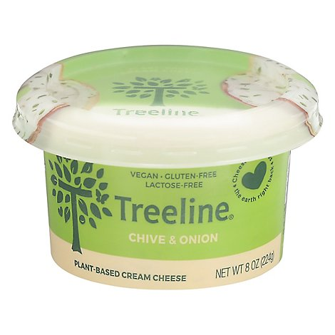Treeline Cream Chz Chve Onion Cashew - 8 OZ