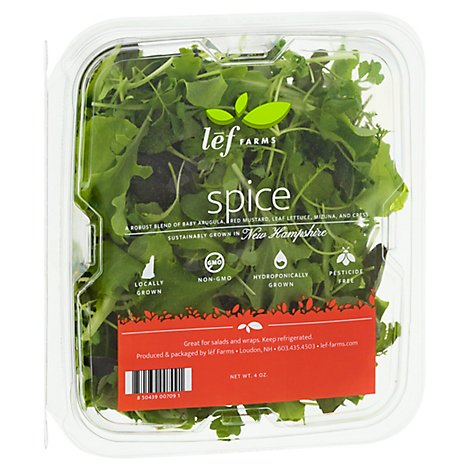 Lef Farms Spice Salad Blend - 4 OZ
