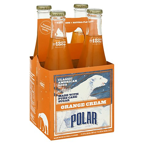 Polar Soda Orange Cream - 4-11.5 FZ