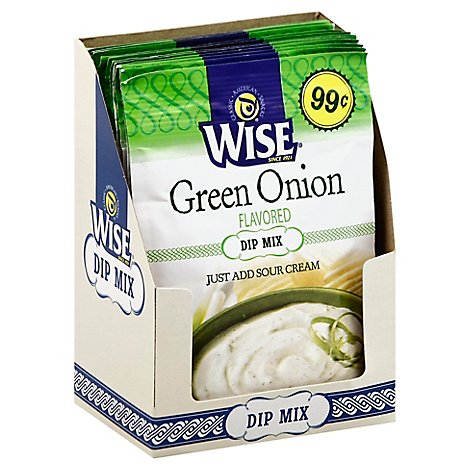Wise Green Onion Dip Mix Dry  5 Oz - .5 OZ