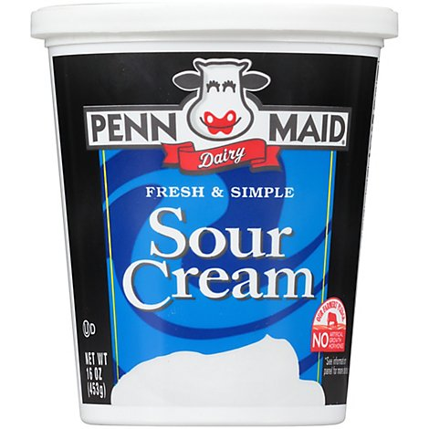 Penn Maid Sour Cream - 16 OZ
