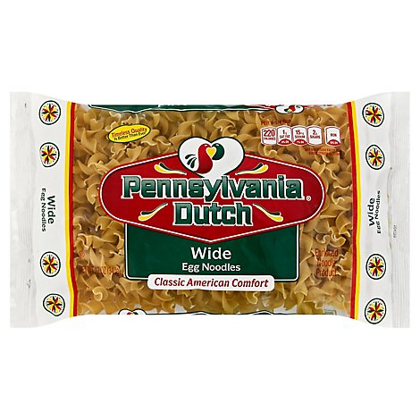 Pennsylvania Dutch Wide Egg Noodles - 12 OZ