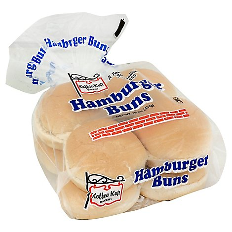 Koffee Kup Hamburger Rolls - 13 OZ