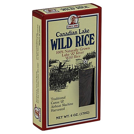Grey Owl Rice Organic Wild - 6 OZ
