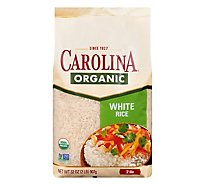 Carolina Organic White Rice - 2 LB