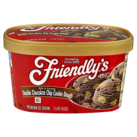 Friendlys Double Chocolate Chip - 1.5 QT