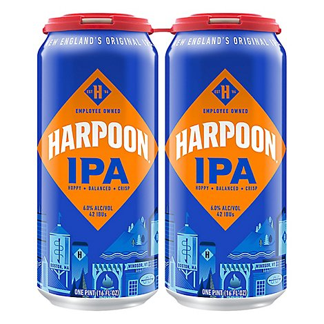 Harpoon Ipa - 4-16 FZ