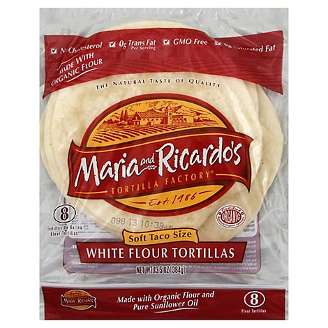 M&r White Flour Trtl - 13.5 OZ