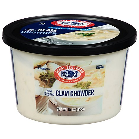 Legal Sea Foods New England Clam Chowder - 15 OZ