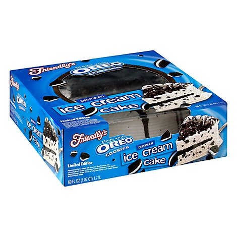 Friendlys Oreo Cake - 60 OZ