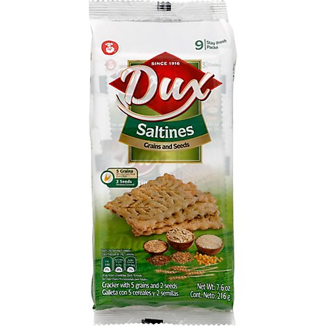 Dux Saltine Multigrain Bag - 7.62 OZ